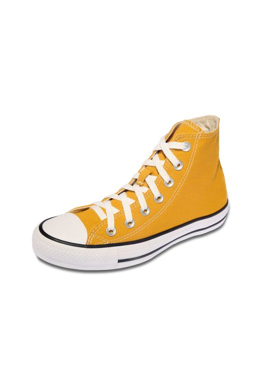 Tenis Converse Chuck Taylor All Star High Amarelo d94423b1feee0
