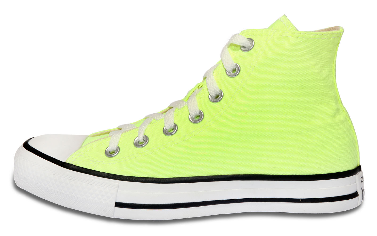 Tenis Chuck Taylor All Star Verde Fluor - theboxproject f55ee9af7f796