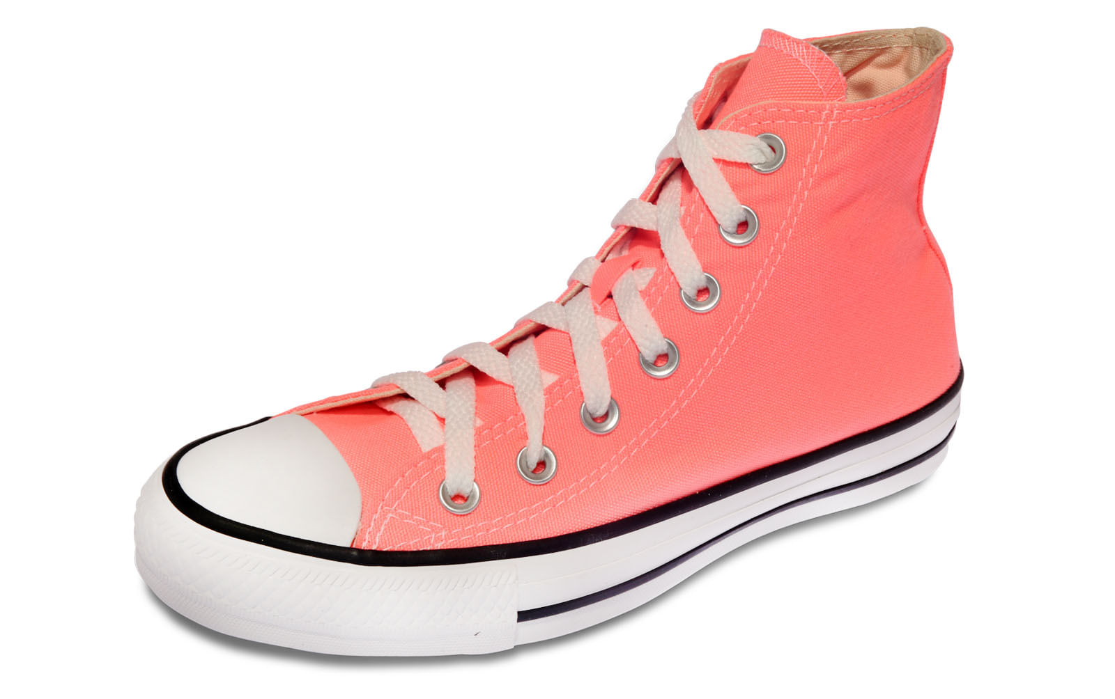 Tenis Chuck Taylor All Star Rosa Fluor - theboxproject 1f8ed150500cc